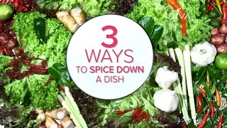 My Kitchen Rules S7 Spice Sisters - How to make food less spicy