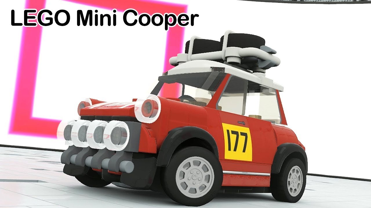 LEGO Mini Cooper | Forza Horizon 4 | LEGO RACE - YouTube