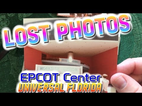 Lost Photos of EPCOT and Universal