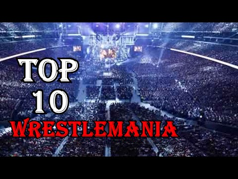 Top 10 WWE Largest Wrestlemania Attendance Record/Crowds as of 2016 thumbnail