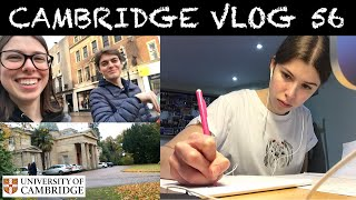 CAMBRIDGE VLOG 56: busy busy busy