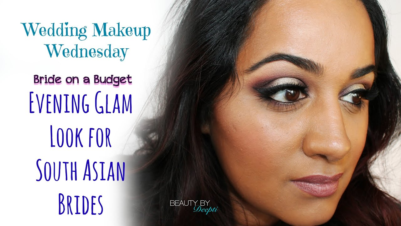 Evening Wedding Makeup Looks : Wedding Makeup Wednesday: Bride on a Budget - Evening Glam ...