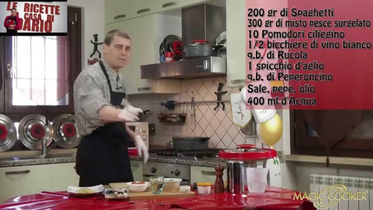 Spaghetti Allo Scoglio Con Preparato Pronto Surgelato Con Magic