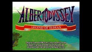 SAT Albert Odyssey: Legend of Eldean
