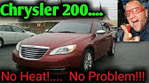 Chrysler 200 CLICKING NOISE EASY FIX 2011-2014 tapping hvac