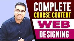 Professional Diploma in WEB DESIGNING | Web Designing tutorial in hindi | web designing course