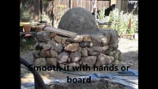cob   Building cob oven