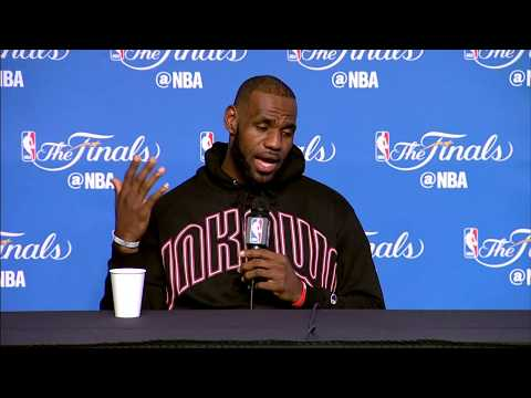 LeBron James FULL Interview Before Game 4 | Media Day Availability