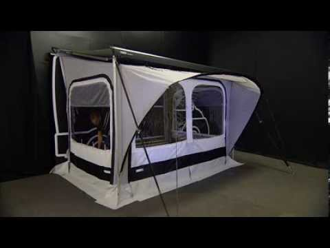 RV Awning Tents - Thule QuickFit Modularity - YouTube