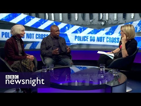 Is the UK facing a rise in knife crime? - BBC Newsnight