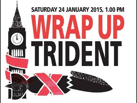 LIVE: Thousands protest Trident nuclear weapons replacement