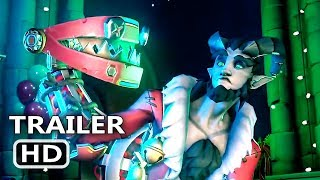 PS4 - Overwatch: Winter Wonderland Trailer (2018)