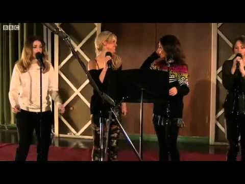 Girls Aloud -- Love Machine (Live Lounge)