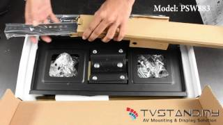 Unboxing | Full-Motion Wall Mount LCD/PDP Upto 32''-50'' - PSW883