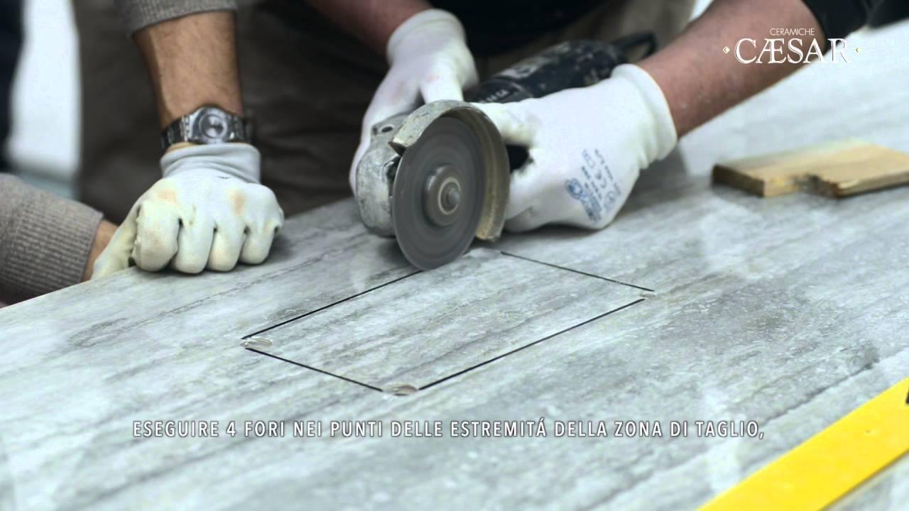 Caesar project evolution: grandi lastre in gres porcellanato fino a