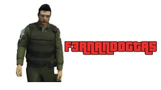 GTA online policías y rata