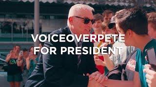 VoiceoverPete for PRESIDENT 2020 thumbnail