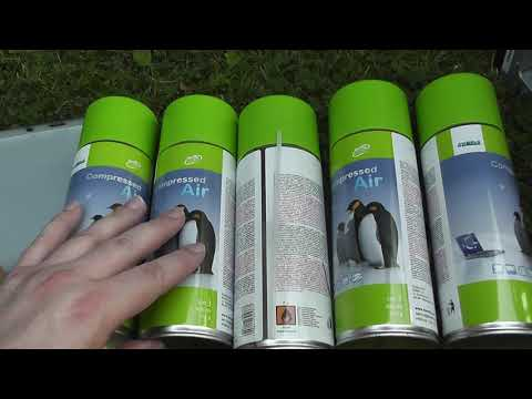 share Compressed Air to clean inside dusty Cyberpower PC 24jul19
