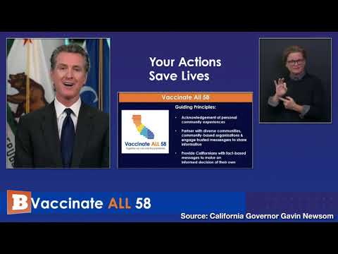 "Newsom: ""Cultural Competency"" Needed for Vaccine Campaign to Work in California"