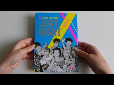 Unboxing GOT7 갓세븐 3rd Mini Album Just Right 딱 좋아
