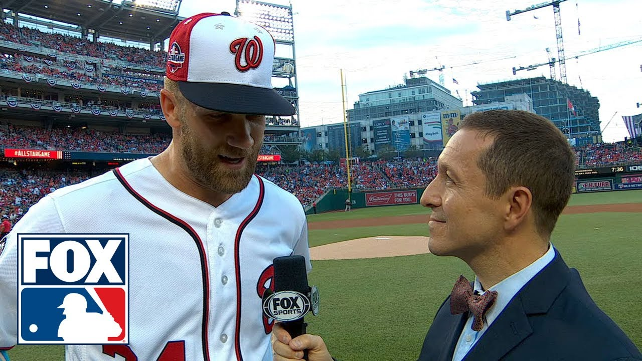 bryce-harper-talks-with-ken-rosenthal-on-playing-the-2018-all-star-game-on-his-home-field-fox-mlb