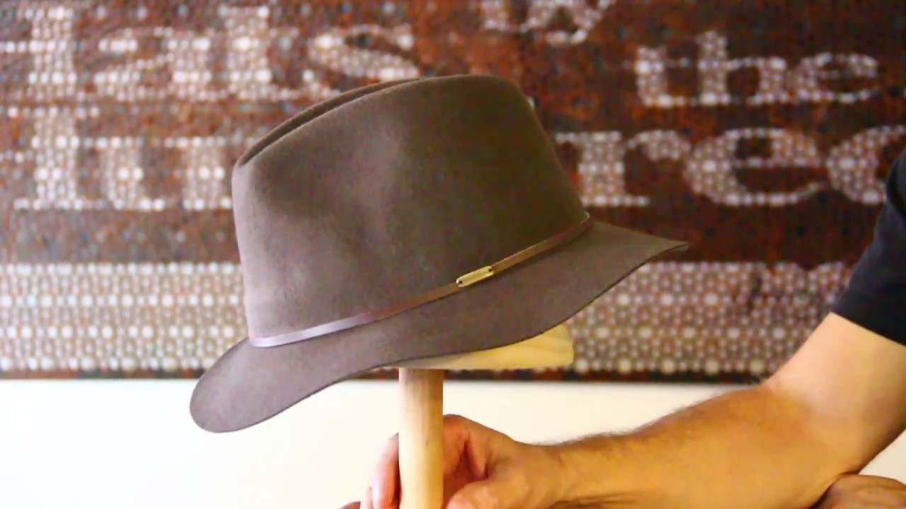 93c5e7e97 Kooringal Rajah Fedora Brown Hat Review - Hats By The Hundred