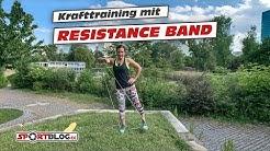 20 Min Ganzkörper-Krafttraining mit Resistanceband inkl. Aufwärmen