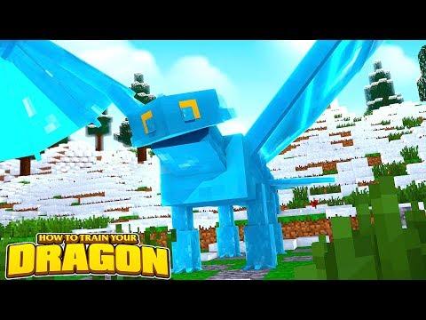 ICE NIGHTFURY AND BONEKNAPPER?!  How To Train Your Dragon wTinyTurtle