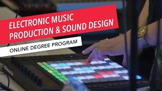 Berklee Online Degree Overview: Electronic Music Production and Sound Design