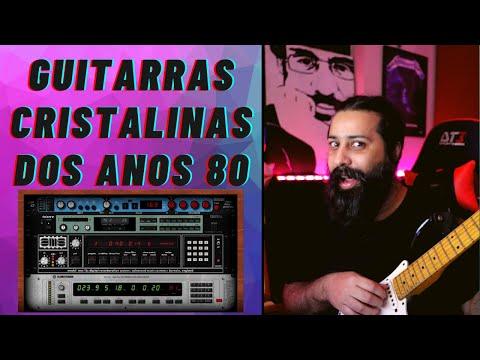 Guitarras Cristalinas dos Anos 80 Vlog 2