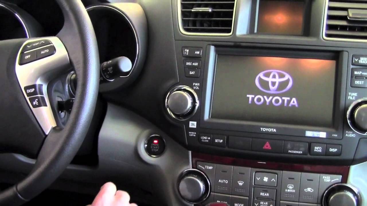 Toyota Highlander Owners Manual: Smart key system