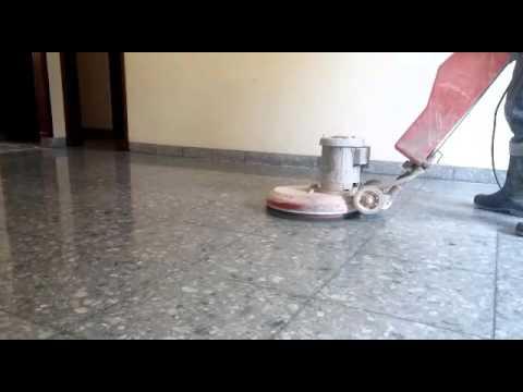 Puliendo piso de mosaico youtube - Cubre piso alfombra ...