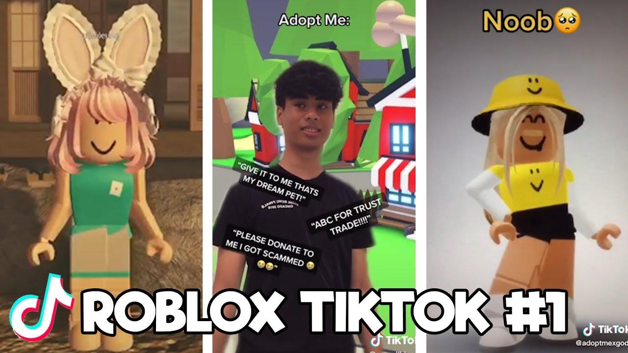 Funny Random Roblox Tiktok Compilation 1 Tik Tok 2020 Youtube