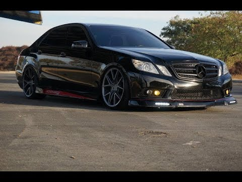 tuning mercedes e350 w212 youtube. Black Bedroom Furniture Sets. Home Design Ideas