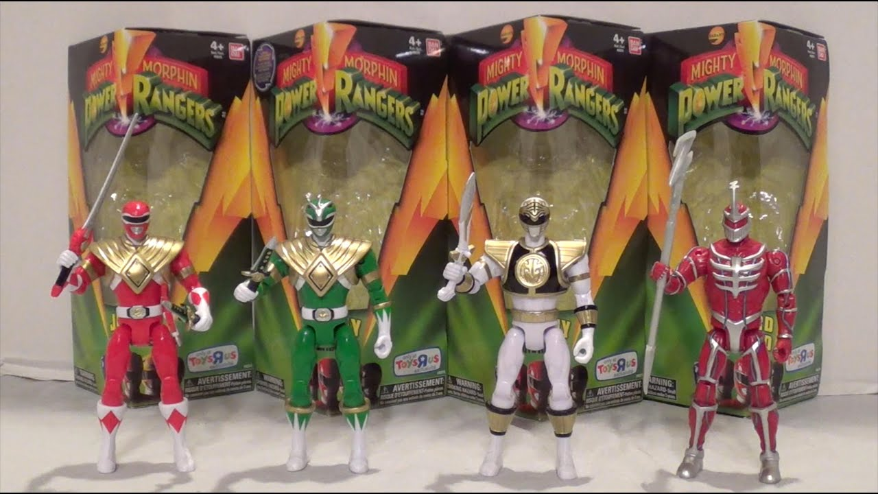 Legacy 5 Inch Wave 1 Figures Review Mighty Morphin Power