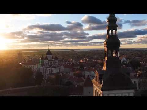 2º Vôo com o Drone   Tallinn   Estonia