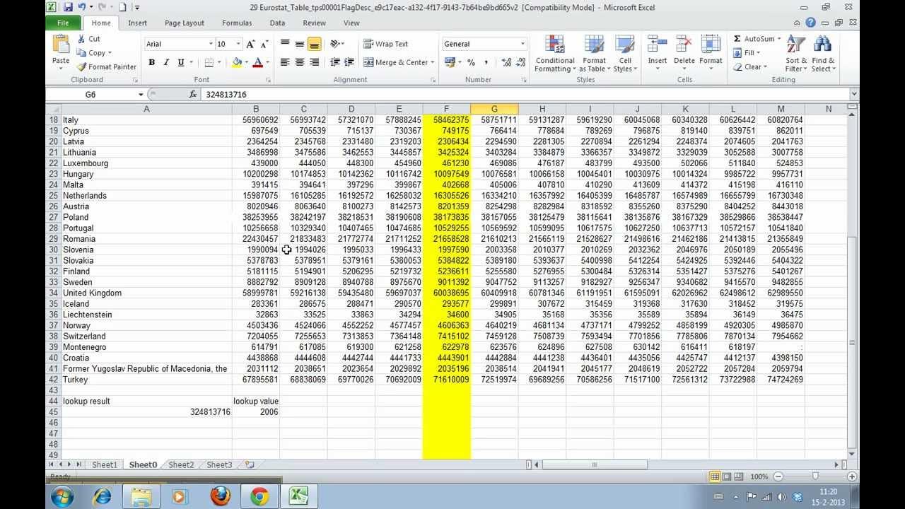 vlookup and hlookup in excel 2007 tutorial pdf