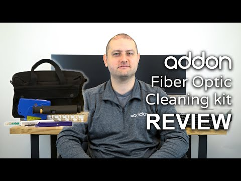 AddOn Fiber Optic Maintenance Toolkit Review!