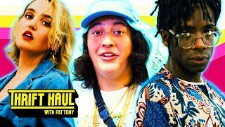 tinder date at taco bell ft tabasko sweet thrift haul w fat tony