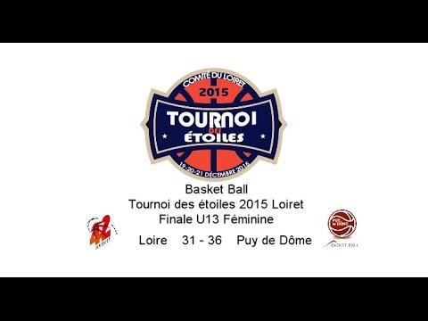 TournoiDesEtoiles2015Loiret Finale U13 Féminin Loire 31   36 Puy de Dôme