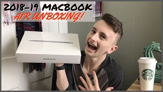 2018 MacBook Air Unboxing!! + First Impressions 💻 (SPACE GREY)