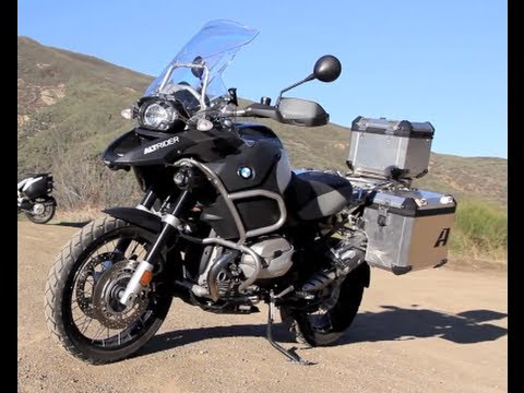 Adventure Touring Motorcycle >> Bmw R1200 Gs Adventure Touring Motorcycle Youtube