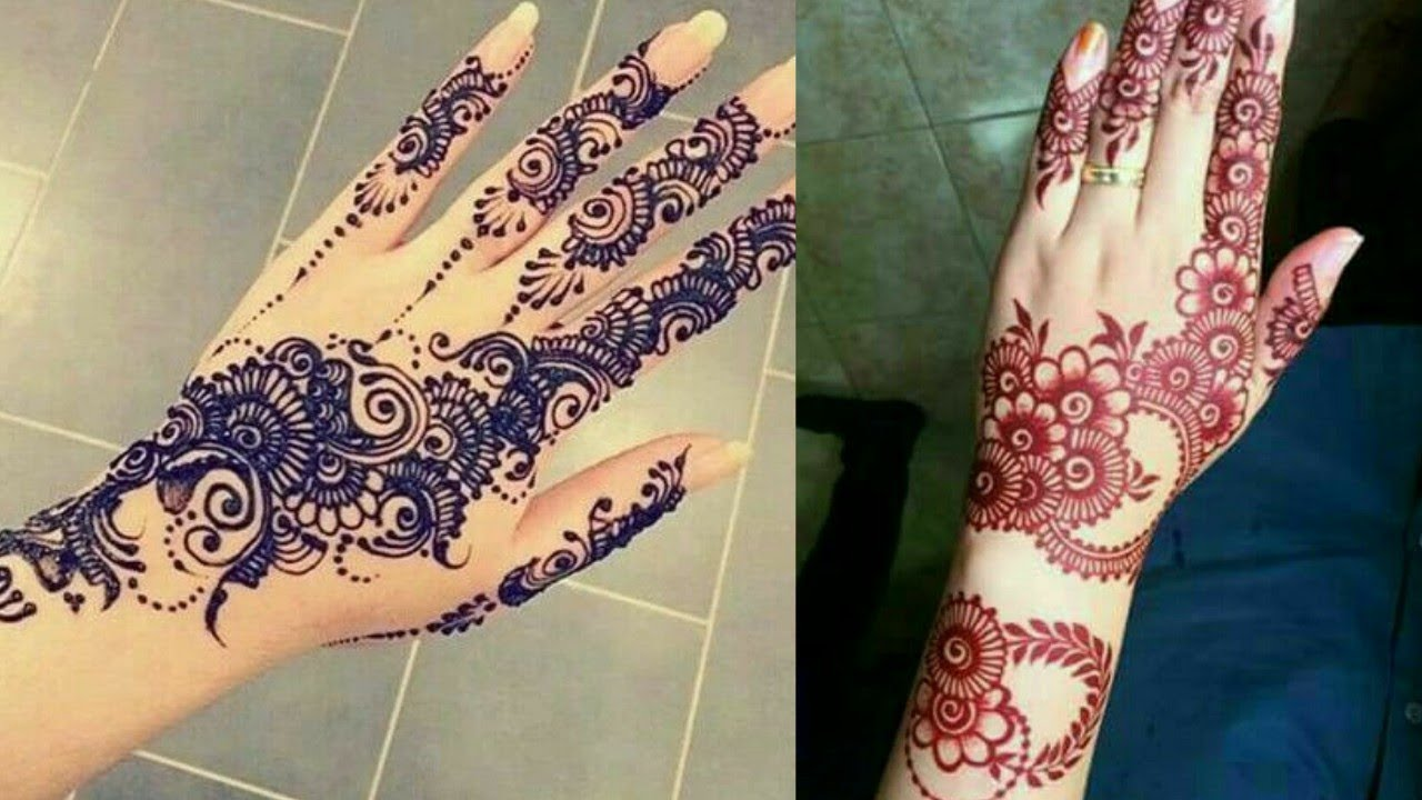 Latest Arabic Mehndi Designs 2018 Simple And Easy Arabic Mehndi