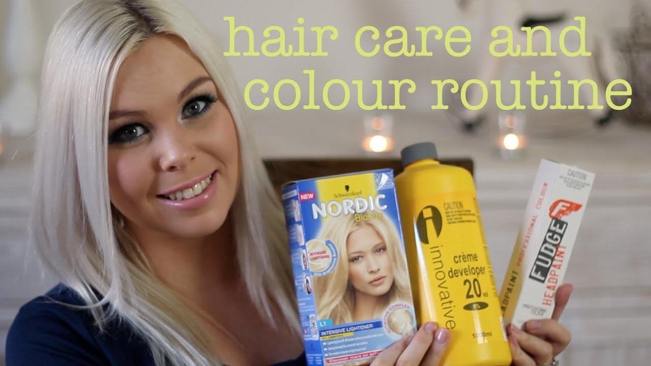 Blonde Hair Care And Colour Routine Crystal Conte YouTube