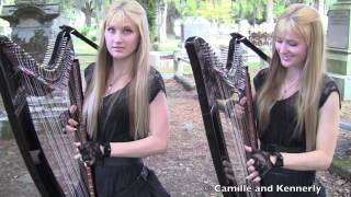 PAINT IT BLACK (The ROLLING STONES) Harp Twins - Camille and Kennerly