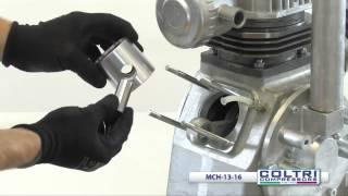 13-16 | Disassembly/Assambleyasi kompressor uchinchi bosqichi Coltri MCH
