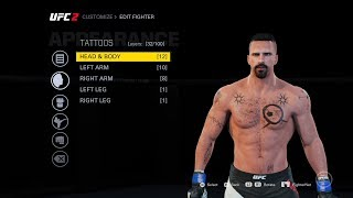 EA SPORTS UFC 2 - How to Create YURI BOYKA in GameFace.