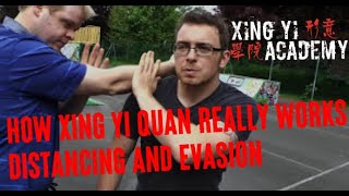 Xing Yi Quan Fundamental Skills - Some ideas about distance and evasion (Hsing I Chuan)