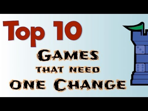 Top 10 Games That Need One Change