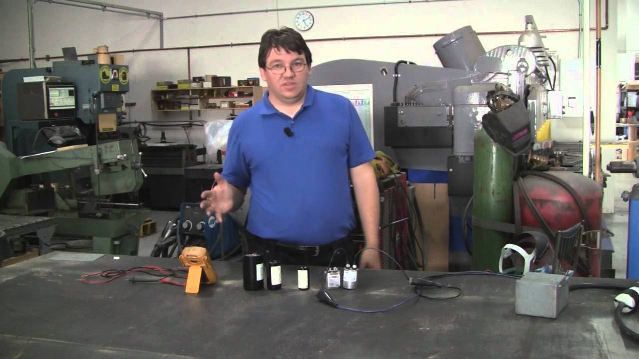 start capacitors & run capacitors for electric motors - differences  explained by temco - youtube